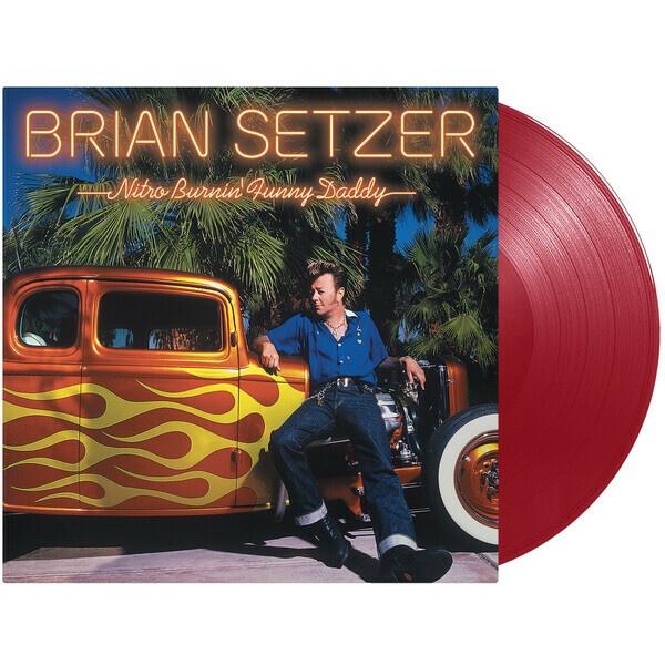 BRIAN SETZER, nitro burnin´ cover