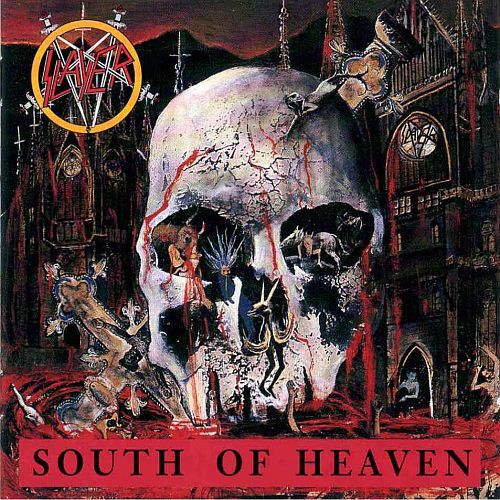 SLAYER, south of heaven cover