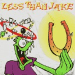 Cover LESS THAN JAKE-shirt, losing streak_anthrazit