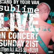 Cover SUBLIME, stand by your van