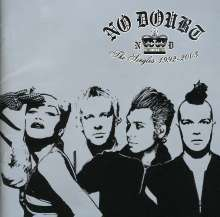 NO DOUBT, singles 1992-2003 cover