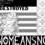 Cover NOMEANSNO, small parts isolated ...