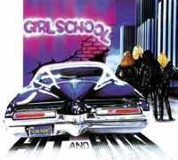 GIRLSCHOOL, hit and run cover