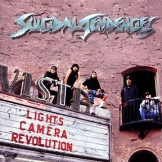 SUICIDAL TENDENCIES, lights, camera cover