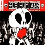 SUBHUMANS, live in a dive cover