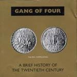 Cover GANG OF FOUR, brief history of the 20th century