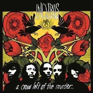 Cover INCUBUS, a crow left of the murder