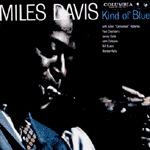 MILES DAVIS, kind of blue cover