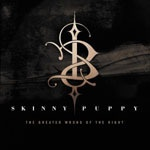 SKINNY PUPPY, greater wrong of the right cover