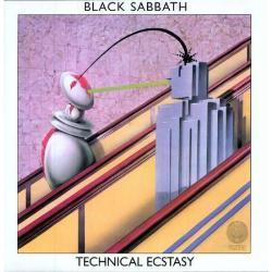 BLACK SABBATH, technical ecstasy cover
