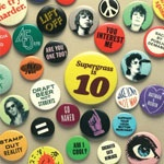 SUPERGRASS, is 10 - best of 94-04 cover