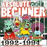 Cover ABSOLUTE BEGINNER, early years 1992-94