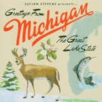 SUFJAN STEVENS, michigan cover