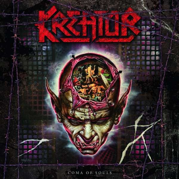 KREATOR, coma of souls cover