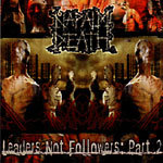 NAPALM DEATH, leaders not followers part 2 cover