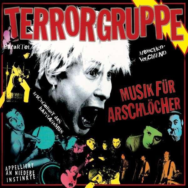 TERRORGRUPPE, musik für arschlöcher cover