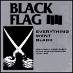 Cover BLACK FLAG, everything went black