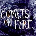Cover COMETS ON FIRE, blue cathedral