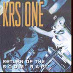 KRS-ONE, return of the boom bap cover