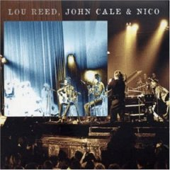Cover LOU REED / JOHN CALE / NICO, le bataclan paris jan 29. 72