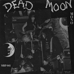 Cover DEAD MOON, strange pray tell