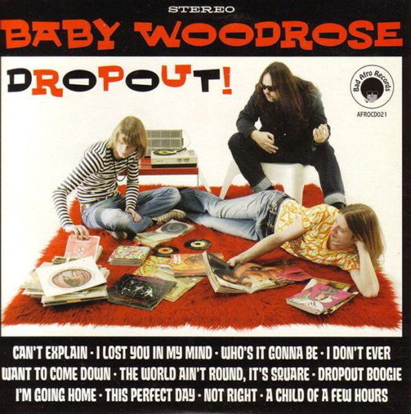 BABY WOODROSE, dropout! cover