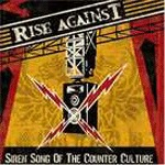 Cover RISE AGAINST, siren song of the counter-culture