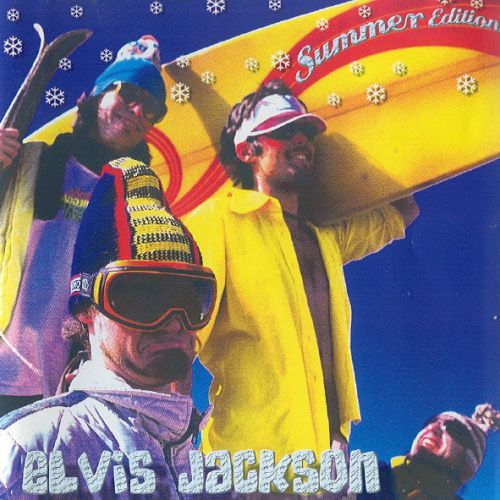 ELVIS JACKSON, summer edition cover