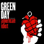 Cover GREEN DAY, american idiot