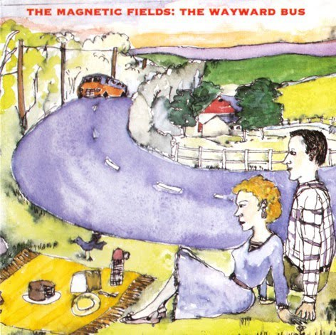 MAGNETIC FIELDS, wayward bus cover