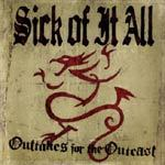 Cover SICK OF IT ALL, outtakes for the outcast