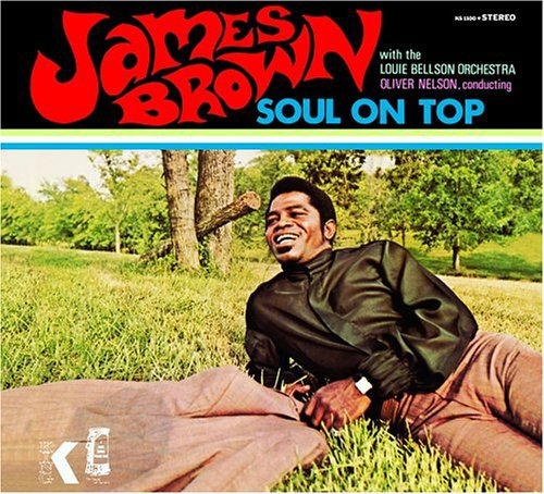 Cover JAMES BROWN, soul on top
