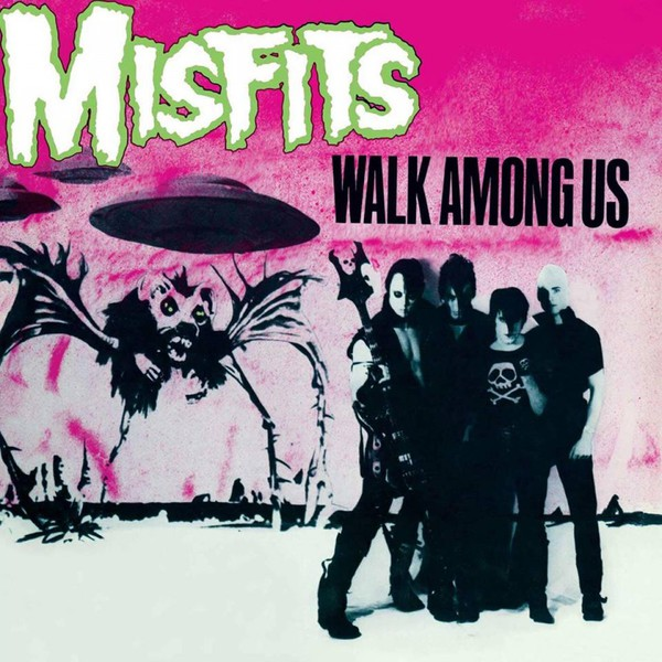 Cover MISFITS, walk among us