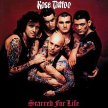 ROSE TATTOO, scarred for life cover