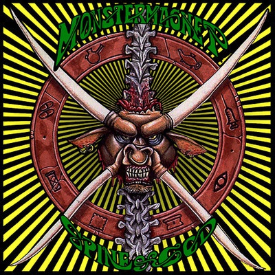 Cover MONSTER MAGNET, spine of god