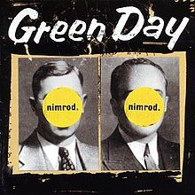 GREEN DAY, nimrod cover