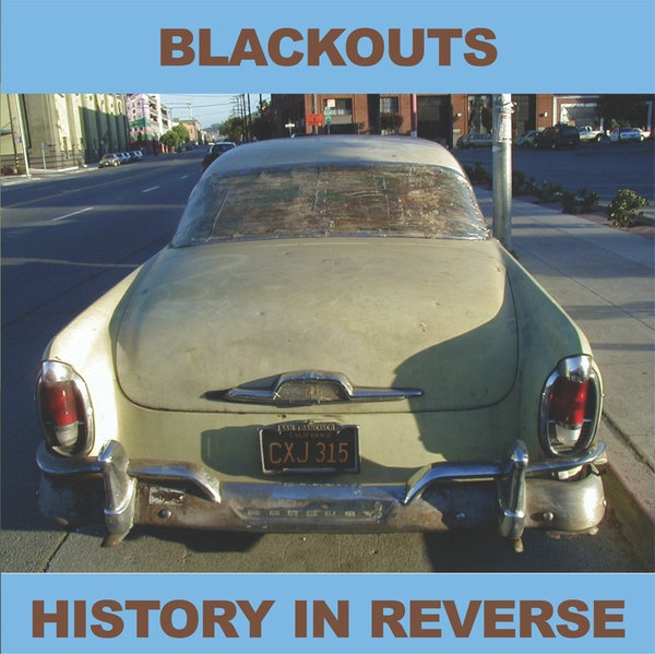 BLACKOUTS, history in reverse cover