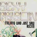 Cover SEXY PRISON, italians who just saw rocky