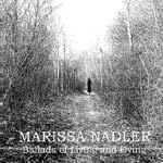 Cover MARISSA NADLER, ballads of living and dying