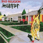 BAD RELIGION, suffer cover