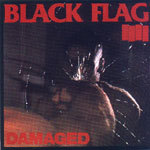 Cover BLACK FLAG, damaged