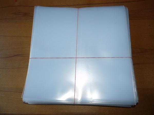 "7"" Schutzhülle PE, 100er pack (billiger) cover"
