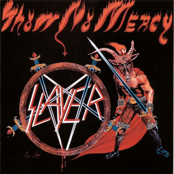 SLAYER, show no mercy cover
