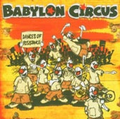 Cover BABYLON CIRCUS, dances of resistance