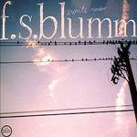 F.S. BLUMM, zweite meer cover