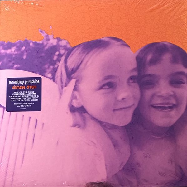 Cover SMASHING PUMPKINS, siamese dream