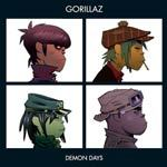 GORILLAZ, demon days cover