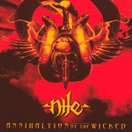 Cover NILE, annihilation of the wicked
