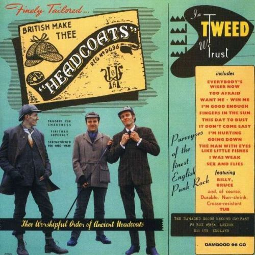 HEADCOATS, in tweed we trust cover