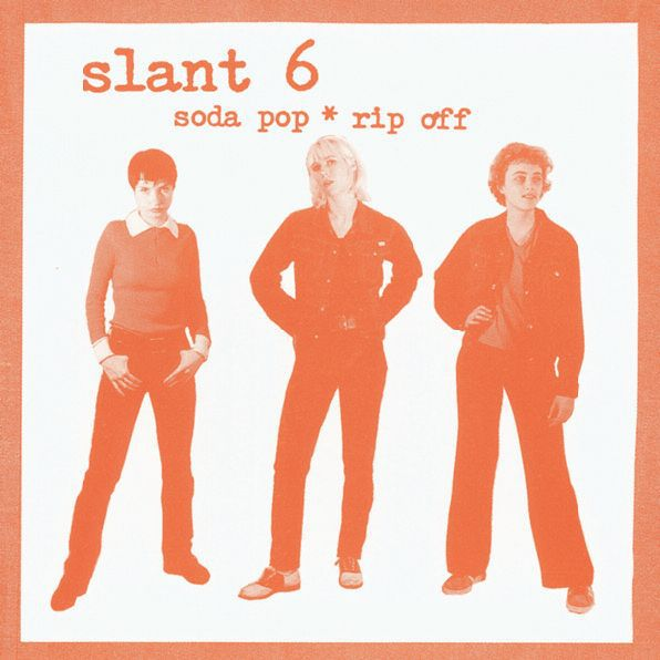 Cover SLANT 6, soda pop * rip off